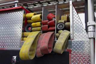 Colored Fire Hoses