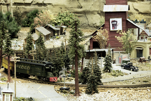 Little Village with Train