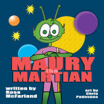 Maury the Martian Coloring Page